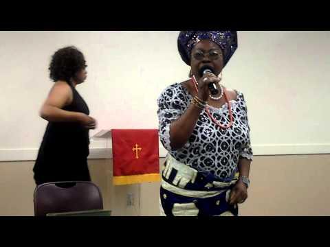 Lady Joy Favored my mum singing