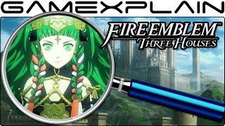 Fire Emblem: Three Houses ANALYSIS - Nintendo Direct Trailer (Secrets & Hidden Details!)