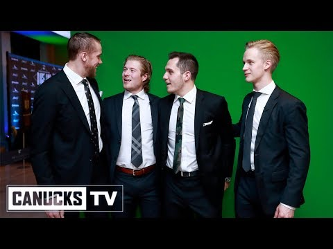 Brock Boeser & Elias Pettersson Mic'd Up At Dice And Ice (Feb. 19, 2019)