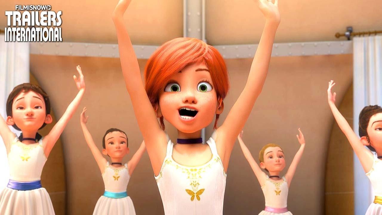 A Bailarina Trailer Oficial 2 Animacao Hd Youtube