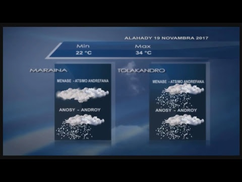 LIVE DU 18 NOVEMBRE 2017 BY TV PLUS MADAGASCAR