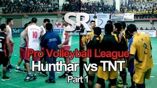 SR : Pro Volleyball | Hunthar Veng vs TNT [5.5.2016] [1/2]