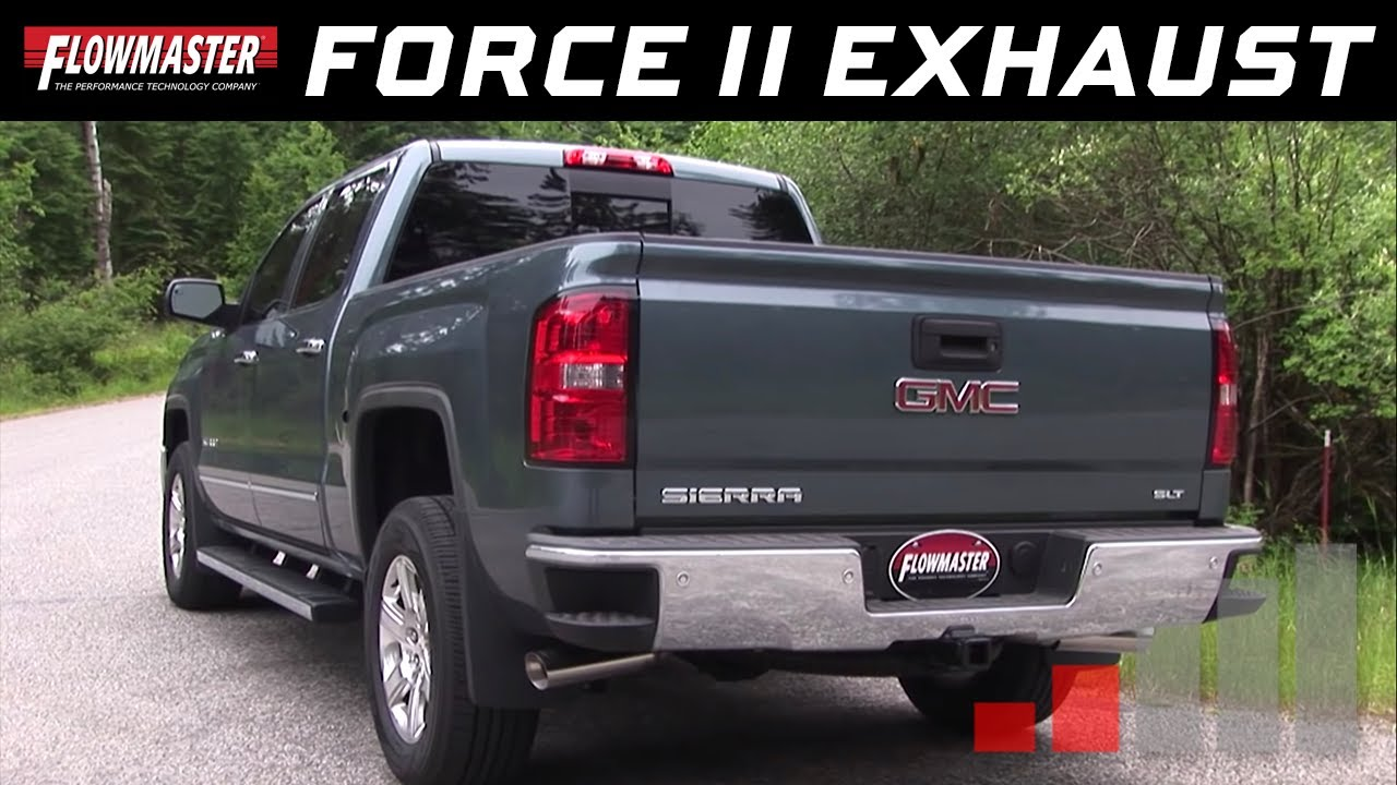 Flowmaster Force II Cat-back for the 2014-2017 Chevy Silverado & GMC ...