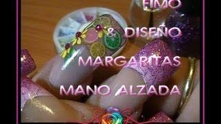 Fimo & Diseño Margaritas Mano Alzada :::... ☆ Jennifer Perez of Mystic Nails PR.com thumbnail