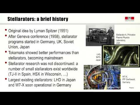 7b The stellarator and other confinement concepts