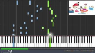 Shounen Ashibe: Go! Go! Goma-chan Opening - Hello Tomorrow (Synthesia)