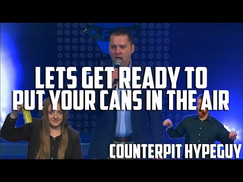 Lets get ready to put your cans in the air | Counterpit hypeguy