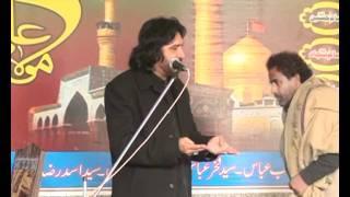 Allama Zulfiqar Haider Naqvi In Jora 13 Muharam decmber 2011part 1.flv