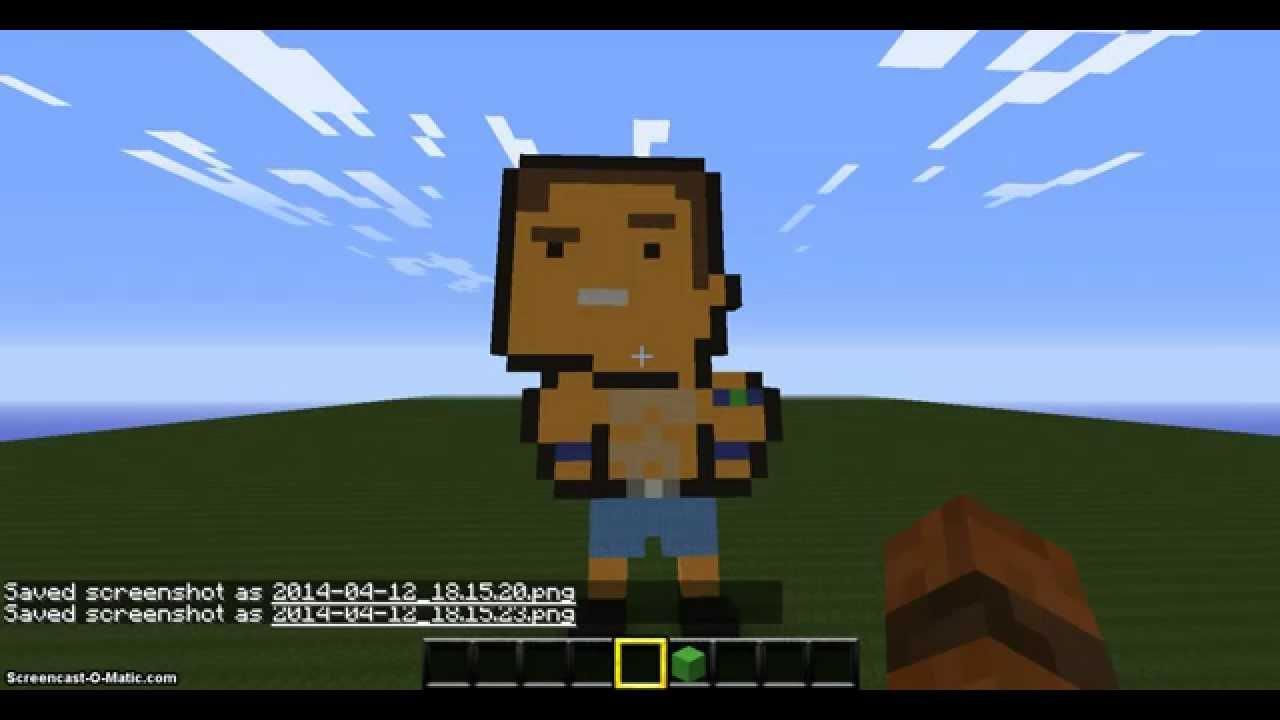 Minecraft - John Cena!! - YouTube