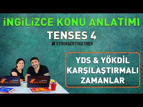 İngilizce Konu Anlatımı - Tenses 4 (YDS & YÖKDİL KARŞILAŞTIRMALI ZAMANLAR)
