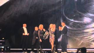 Madonna - Unapologetic Bitch ft. Jessica Chastain  - Rebel Heart Tour (Prague)