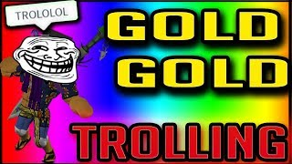 GOLD GOLD TROLLING | STEVE'S ONE PIECE | ROBLOX | Gold Devilfruit