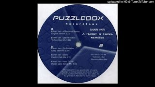 A Number Of Names - Shari Vari (Eddie Fowlkes Techno Soul Mix)