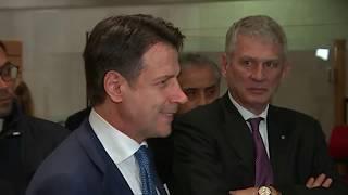 Punto stampa del Presidente Conte da Bruxelles