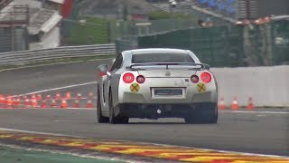 Nissan GT-R R35 Flatout on Track!