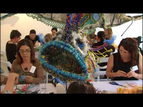 Ghost Nets become works of art – saving marine life in Queensland