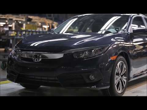 Car Factory | Thats How Your Honda Civic Was Made | Honda Factory
