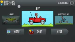 Hill Climb Racing Mod - Unlimited Gas, Coins And Gems