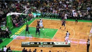 Rajon Rondo ridiculous pass to Ray Allen (Dec. 8, 2010)