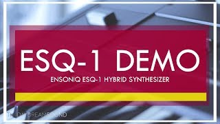 ENSONIQ ESQ-1 Demo