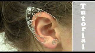 Wire Wrapped Elf Ears Tutorial/Demo