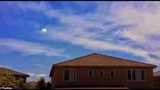 Misterioso agujero de luz en el cielo