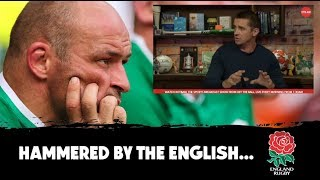 'This is a hammer blow' | Irish 'starters' need to go | Alan Quinlan England vs Ireland