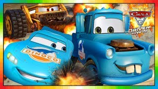 Cars 3 Driven to win ★★ BLUE MCQUEEN & MATER ★★ ( no cars full movie - only game videogame )