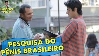 PEGADINHA - Pesquisa do pênis brasileiro