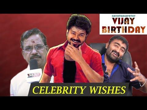 Download Youtube: Celebrity Wishes   Ilayathalapathy Vijay's Birthday Special   Vijay Rasigargal