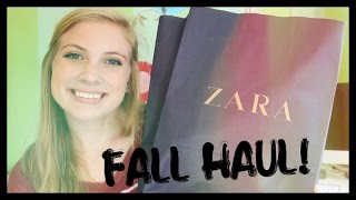 Fall Try On Haul!!! Anthropologie, Zara, + More! Thumbnail