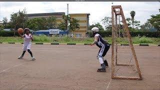 Le Roll Ball : un mix de roller, de basket et de handball l BBC Sport Afrique - 28 janvier 2020