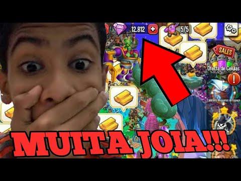 DICA DE COMO GANHAR MUITA JOIA NO MONSTER LEGENDS!!