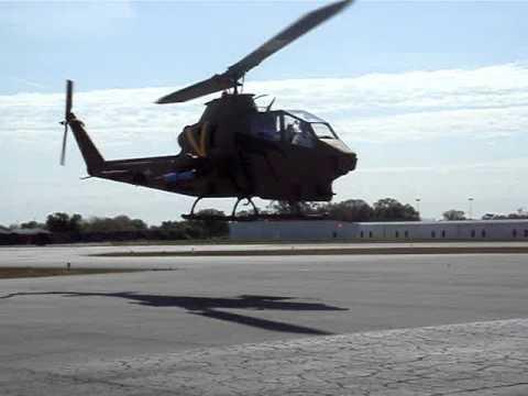 AH1 Army Cobra First Landing