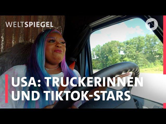 USA: Truckerinnen werden Social-Media-Stars