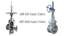 What is Difference Between API 6D and API 600 for Design Gate Valve #Standard Tips 5
