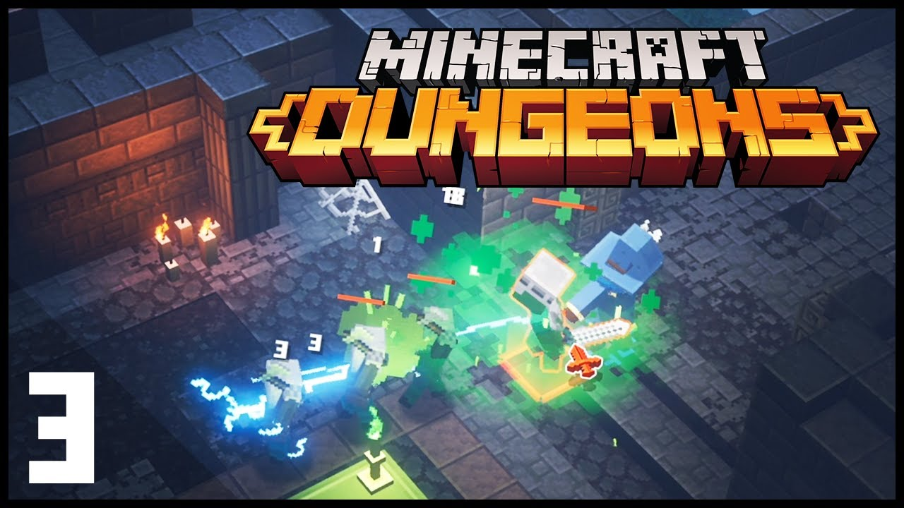 Minecraft Dungeons  9  Long Cave (is long)