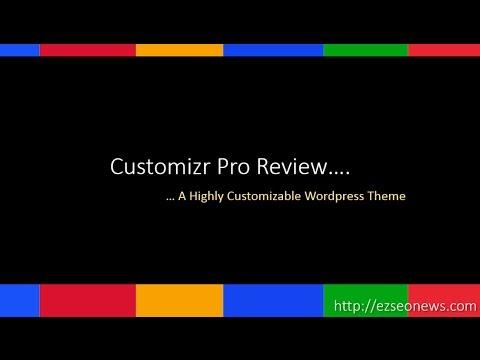 WordPress customizer pro