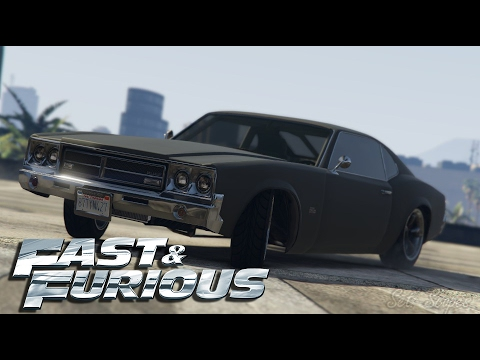 FAST AND FURIOUS 4 - 1970 Chevrolet Chevelle SS Car Build ...
