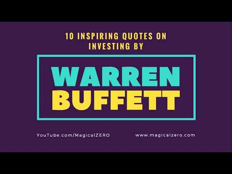 10 Inspiring Quotes on INVESTING by Warren Buffett | Learn from the Oracle of Omaha
