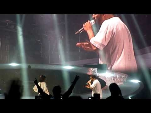 Drake - Take Care ft Rihanna LIVE @ Paris Bercy