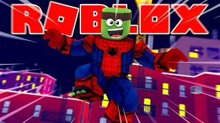 Roblox - TINYTURTLE IS SPIDERMAN!? (Heroes Of Robloxia)