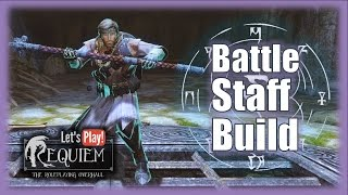 Skyrim Requiem - Battle Staff Build (lvl.15) - Bleak Falls Barrow