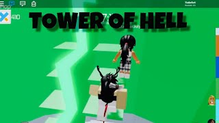COMPLETING TOWER OF HELL IN 2 MINUTES ON IPAD | Roblox
