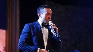 Maruli Tampubolon Cover All Of Me on His wedding party