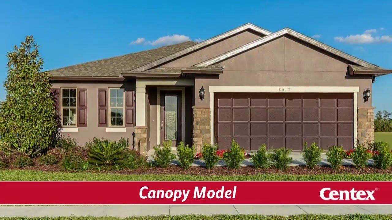 new homescentex – canopy floorplan - youtube