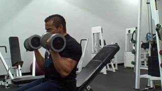 Dumbbell Bicep Workout Routine