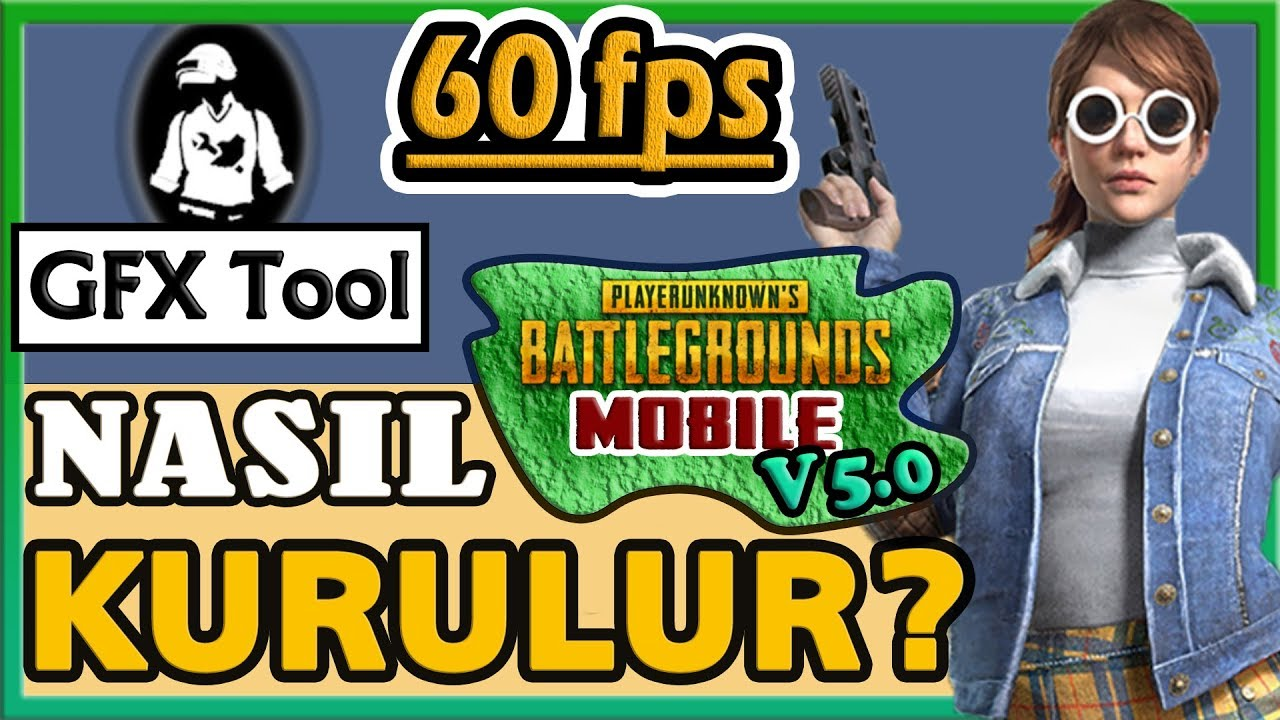 PUBG MOBILE V 5 0 60 FPS WITH GFX TOOL - HOW TO INSTALL GFX TOOL?