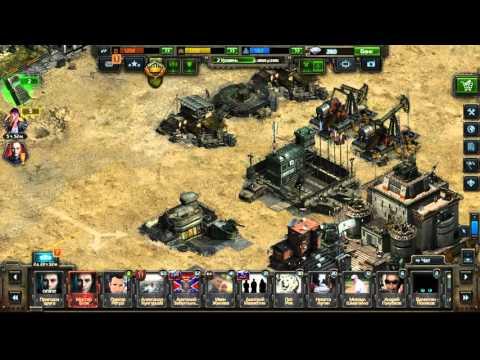Игра Конфликт - как за 1 грабеж забрать до 100 000 ресурсов !!!