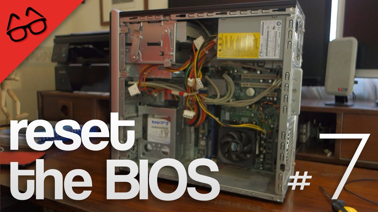 How to clear CMOS/reset the BIOS - MTT #7